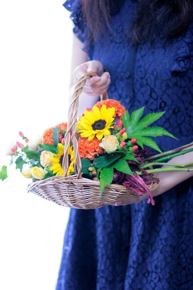 花束アレンジメント